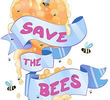 Save The Bees by Julia Bland