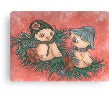 Ladybird Picnic Canvas Print
