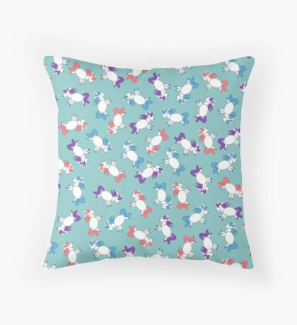 Unicorns! Throw Pillow