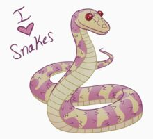 I (Heart) Snakes! by Kashidoodles
