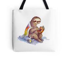 Cozy Sloth Tote Bag