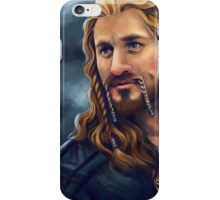 Fili-Blue and Gold iPhone Case/Skin