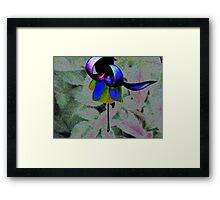 Body Language Of A Flower Framed Print