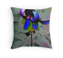 Body Language Of A Flower Throw Pillow
