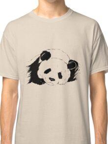Slumbering Panda Classic T-Shirt