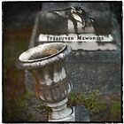 "Graveyard Adornments #61 ... "" Treasured Memories "" by Malcolm Heberle"