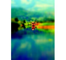 A Shikara, dream carrier    Photographic Print
