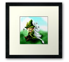 The Best of Friends Framed Print