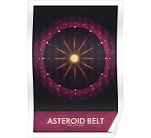 Sol System - The Asteroid Belt Poster