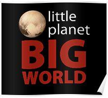 Little Planet - Big World Poster