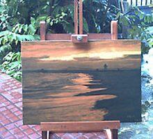 Golden Beach by Lilykoli