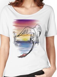 Toothless Sunset Women's Relaxed Fit T-Shirt