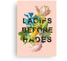 Ladies Before Hades Canvas Print