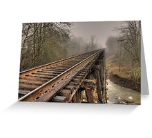Track to some where Greeting Card