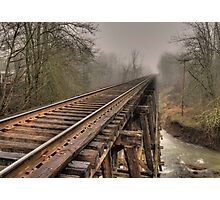 Track to some where Photographic Print