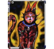 Precious, she's one bad-ass kitty kat iPad Case/Skin