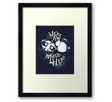 Cheshie - Mad Tea Party Framed Print