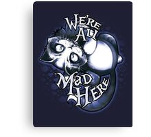 Cheshie - Mad Tea Party Canvas Print