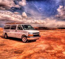 Stop at  Dinosaur Tracks, Arizona by LudaNayvelt