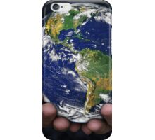 Holding the Earth iPhone Case/Skin