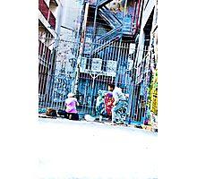 Melbourne street artists Photographic Print