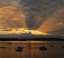Sunrise At Batemans Bay - Australia by shortshooter-Al