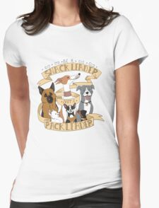 Be A Snack Leader Not a Pack Leader Womens Fitted T-Shirt