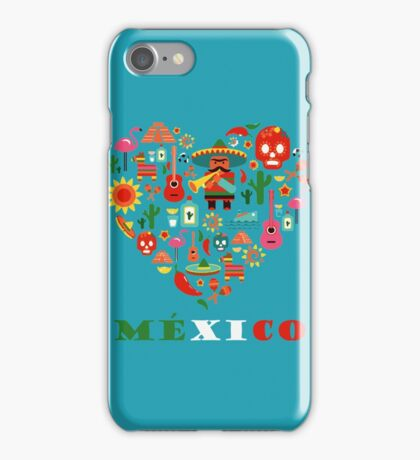 LOVE MEXICO iPhone Case/Skin