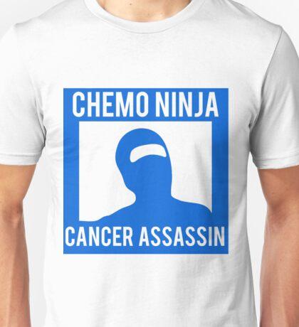 Chemo Ninja Cancer Assassin Unisex T-Shirt