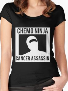 Chemo Ninja Cancer Assassin Women's Fitted Scoop T-Shirt