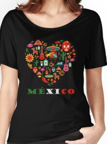 LOVE MEXICO Women's Relaxed Fit T-Shirt