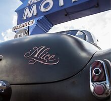 Alice At The Blue Swallow Motel by LizLeggettPhoto