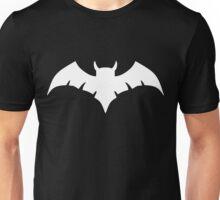 Owlman Logo - White Unisex T-Shirt