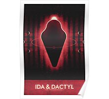 The Asteroid Belt - Ida & Dactyl Poster
