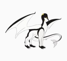 The Penguin-Dragon (Lastest evolution) Baby Tee