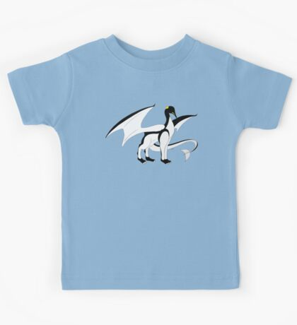The Penguin-Dragon (Lastest evolution) Kids Tee