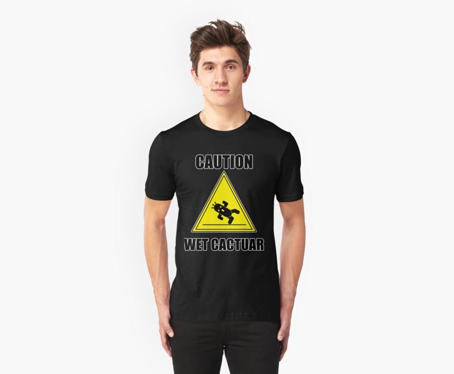 Caution: Wet Cactuar by EclipsedSoul