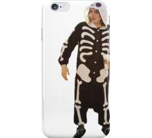 Emo in Halloween costume iPhone Case/Skin
