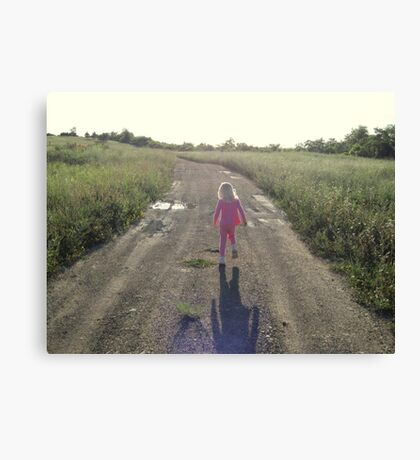 Take Me Home, Country Roads Canvas Print
