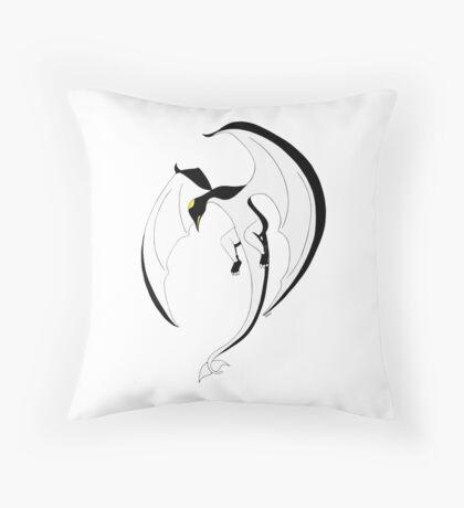 The Penguin-Dragon (Second evolution) Throw Pillow