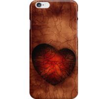 Grunge Dark Heart Wallpaper iPhone Case/Skin