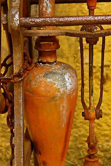 Circas 1820's Cistern by Ronald Rockman
