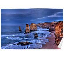 The Twelve Apostles Marine National Park Poster