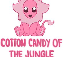 Cotton Candy of the Jungle by TinyUniverse