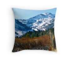 Squaw Valley Throw Pillow