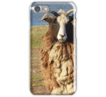 Goat fur. iPhone Case/Skin
