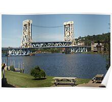 Portage Lake Lift Bridge Poster