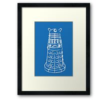 EXTERMINATE!!1! Framed Print