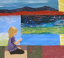 Girl at Orford by Rachel Ireland-Meyers