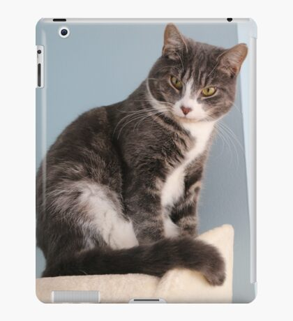 What 'mew Lookin' at? iPad Case/Skin